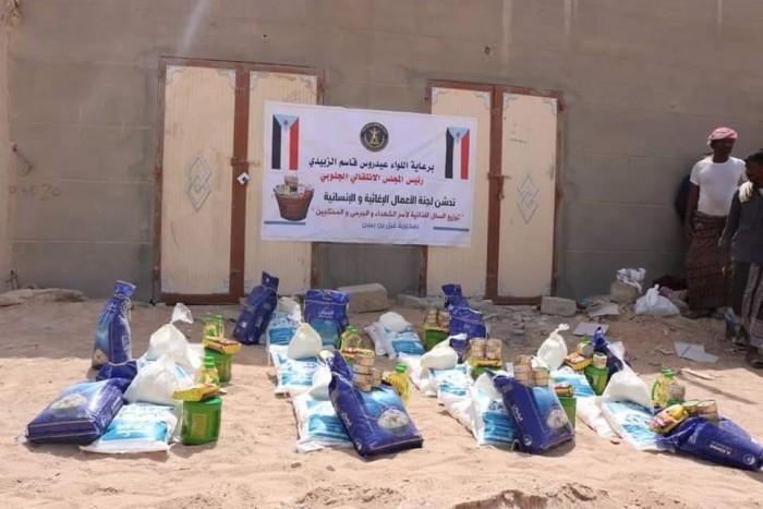 الانتقالي  يواصل توزيع السلال الغذائية في مختلف مديريات حضرموت