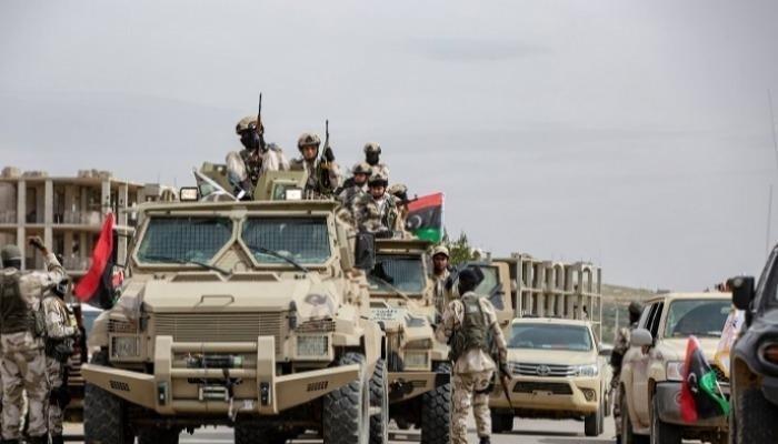 مقتل قائدين بالجيش الوطني الليبي في قصف لطائرة تركية مسيرة