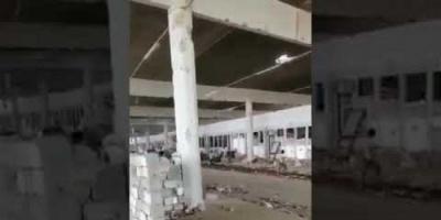 بالفيديو.. عمليات تنظيف لمنفذ حرض الحدودي مع السعودية