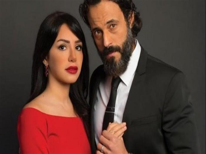 إنجي علاء تحتفل بعيد ميلاد زوجها يوسف الشريف