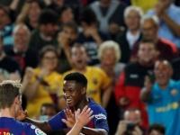 برشلونة يتقدم على فالنسيا بهدفين لهدف في الشوط الأول