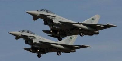 مقاتلات التحالف تدك مواقع المليشيات الحوثية في صعدة والجوف