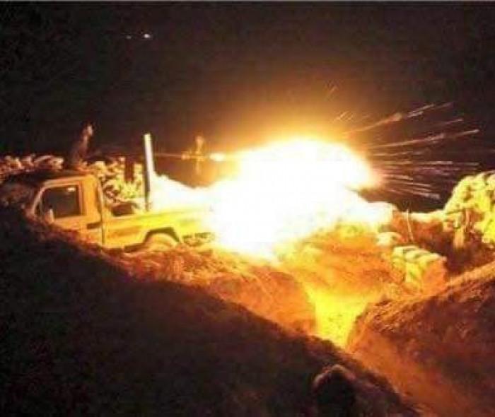 مقتل عناصر حوثية خلال هجوم فاشل بجبهة المشاريح