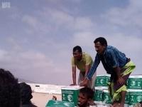 بدعم سعودي.. توزيع سلال غذائية في مديرية رازح بصعدة