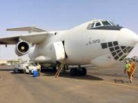 طائرة مساعدات كينية تصل مطار الخرطوم