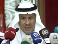 وزير الطاقة السعودي يعقد مؤتمرا صحفيا حول هجوم أرامكو