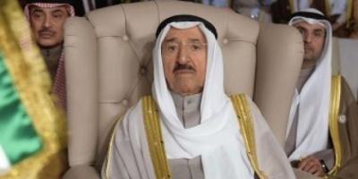 رئيس مجلس الأمة الكويتي يزور الشيخ صباح في مقر إقامته بأمريكا