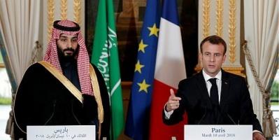 ماكرون يستنكر حادث السعودية الإرهابي خلال اتصال هاتفي مع ولي العهد