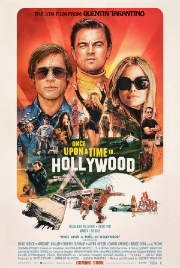 """فيلم Once Upon a Time In Hollywood يتربع على قمة أعمال """"تارانتينو"""""""