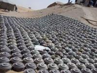 """""""مسام"""" ينتزع آلاف الألغام الأرضية والبحرية في سبتمبر"""