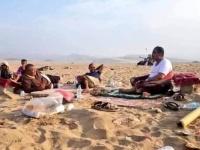 صورة تُظهر عبدالله الصبيحي مشرداً بعد هزيمته الساحقة بمعسكر بدر