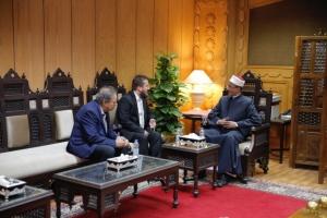 رئيس الجمعية الثقافية بمقدونيا: الأزهر الشريف المنبر الكبير لاتحاد المسلمين حول العالم