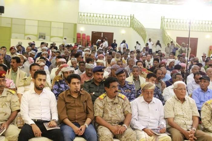 شاهد.. لقطات من الحفل التأبيني لفقيد حضرموت اللواء أحمد سعيد المحمدي