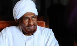الصادق المهدي يعلن استقالته من رئاسة تحالف نداء السودان