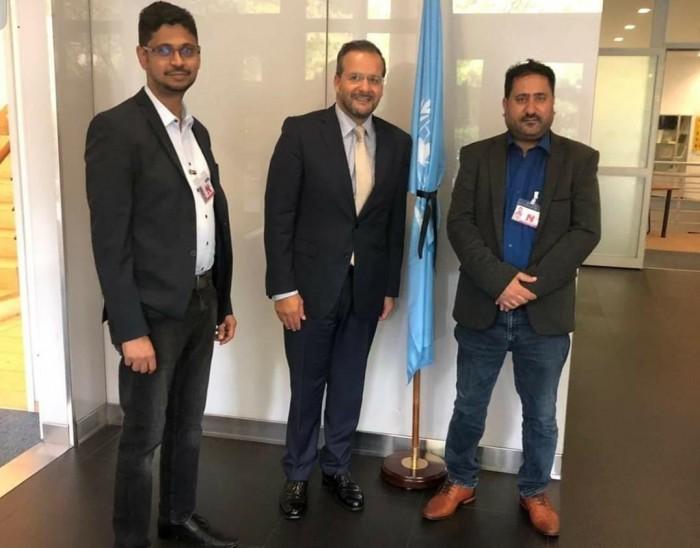تفاصيل اجتماع  المجموعة الجنوبية المستقلة مع المفوضية السامية للأمم المتحدة
