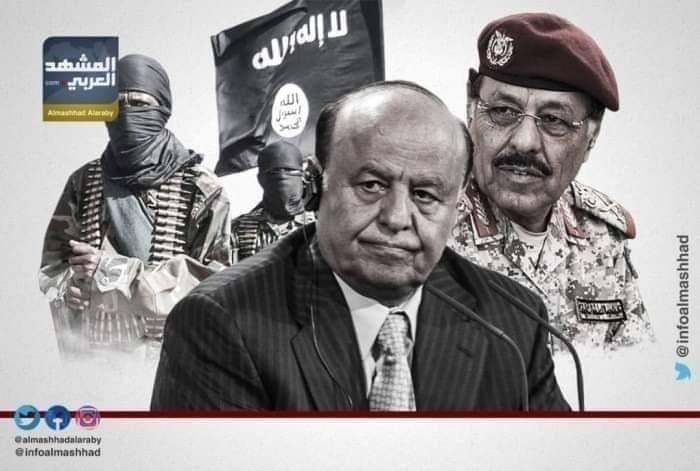 إدانة الثعبان الماكر.. علي محسن الأحمر يتصنّع بكاءً ويدعي دعم السعودية