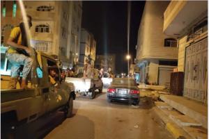 حملة أمنية موسعة تستهدف قطاع الطرق والبلطجية في دار سعد والمحاريق (صور)