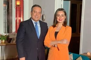 هبة مجدي توجه هذه الكلمات للإعلامي اللبناني زاهي وهبي