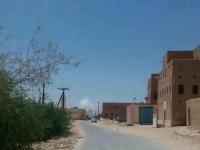 انفجار ضخم في مديرية شبام بحضرموت