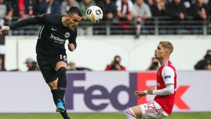 أرسنال يتقدم على فرانكفورت في الدوري الأوروبي