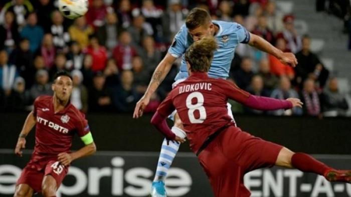 كلوج الروماني يفوز على لاتسيو في الدوري الأوروبي