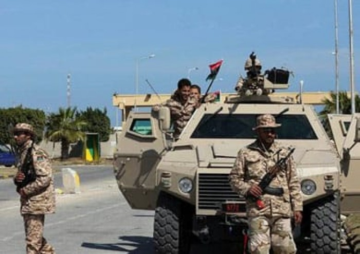 الجيش الليبي: تمكنا من تدمير آليتين مسلحتين تابعتين للإرهابيين