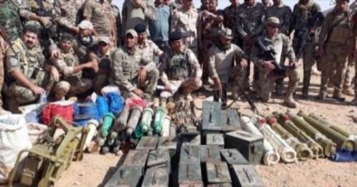 العراق: عثرنا على سلاح وعتاد ومتفجرات لتنظيم داعش الإرهابي جنوب البلاد