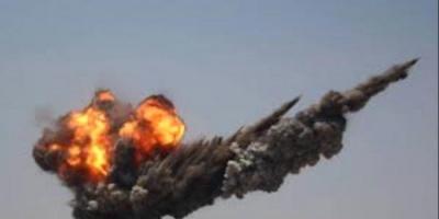 انفجار دبابة لمليشيات الإخوان غرب مدينة شقرة