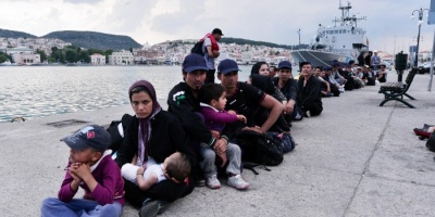 سلطات جزيرة ليسبوس اليونانية ترفض استقبال وافدين جدد
