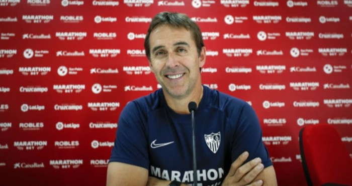 """لوبيتيجي يجهز """"أفضل نسخة من إشبيلية"""" لمواجهة ريال مدريد"""
