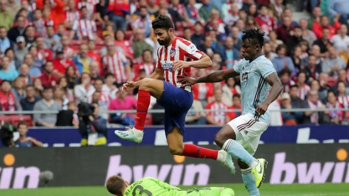 أتليتكو مدريد متعادل سلبياً أمام سيلتا فيجو في الشوط الأول