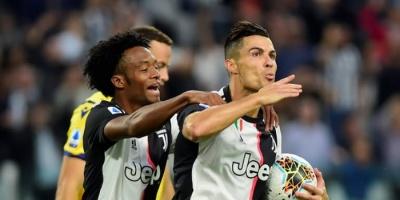يوفنتوس يفوز على فيرونا بثنائية في الدوري الإيطالي