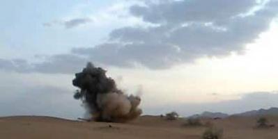 القوات الجنوبية تدمّر دبابة لمليشيات الإخوان في شبوة