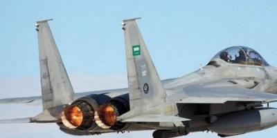 طيران التحالف يشن 3 غارات جوية على مواقع المليشيات في عمران