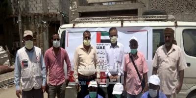 بدعم إماراتي.. تنفيذ حملة رش ضبابي بحوطة لحج