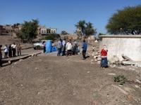 زيارة من وكيل محافظة الضالع لشؤون المديريات لمشاريع المياه بالضالع