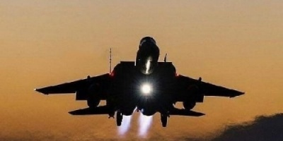 مقاتلات التحالف تستهدف مواقع الحوثي بمريس