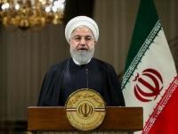 روحاني مدعيًا: أمريكا تسعى لإسقاط المنطقة وأخذ النفط السعودي
