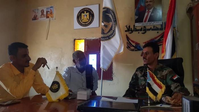 قيادة انتقالي المسيمير بلحج تتفقد اللواء العاشر صاعقة وقطاع الحزام الأمني