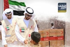 """الإمارات أكثر المُغيثين.. أرقام أممية ترد على افتراءات """"إخوان الشرعية"""""""