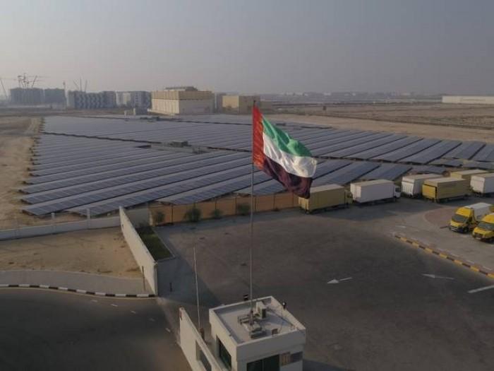 الإمارات تفتتح أكبر محطة للطاقة الشمسية بالبلاد