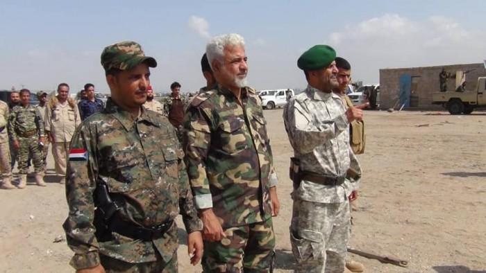 مدير أمن العاصمة عدن يتفقد ميناء المنطقة الحرة في كالتكس (صور)