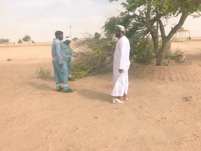انتهاء التأثير المباشر لإعصار هيكا على سلطنة عمان