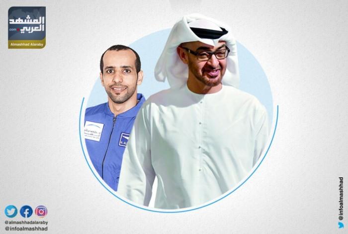 ماذا قال الشيخ محمد بن زايد عن انطلاق أول رائد فضاء إماراتي؟ (انفوجراف)