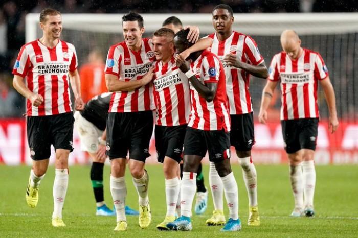 أيندهوفن يعبر جرونينجن بثلاثية في الدوري الهولندي