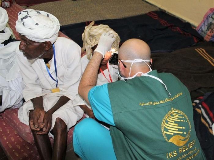 مركز الملك سلمان للإغاثة يبدأ حملة للوقاية من العمى في أريتريا