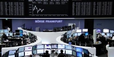 أسهم البورصة الأوروبية تصعد مع تغلب تفاؤل التجارة على المخاوف السياسية
