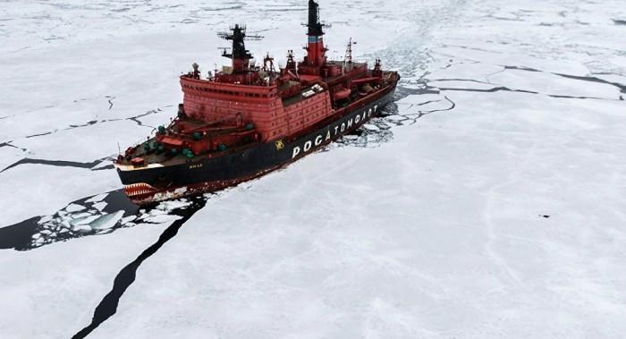 حيوان شرس يهاجم قارب سفينة حربية روسية ويدمره
