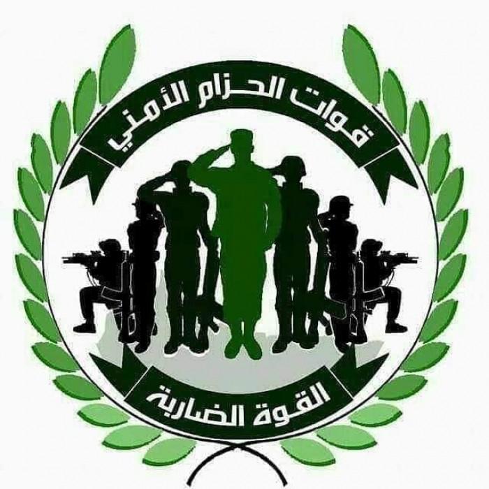 الحزام الأمني ينفي اندلاع اشتباكات بالقرب من معسكر 7 أكتوبر