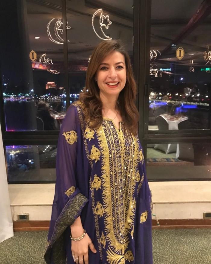 بالفيديو.. منال سلامة تحتفل بعيد ميلاد زوجها المخرج عادل أديب